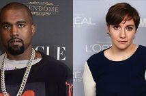 Kanye-West-Lena-Dunham