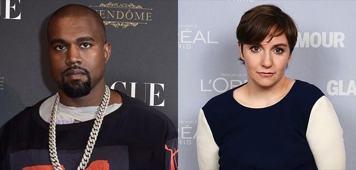 Lena Dunham Shoots Down Kanye West's 'Famous' Video