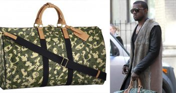 Kanye-West-with-Louis-Vuitton-handbag