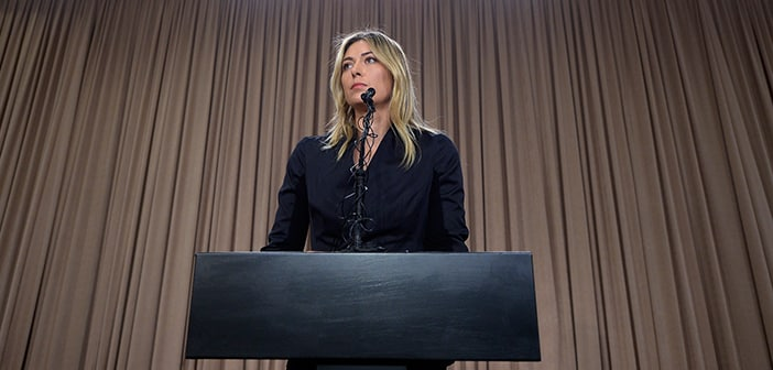 Maria Sharapova Files Appeal To Retract Suspension Before The 2016 Rio Olympics Begins