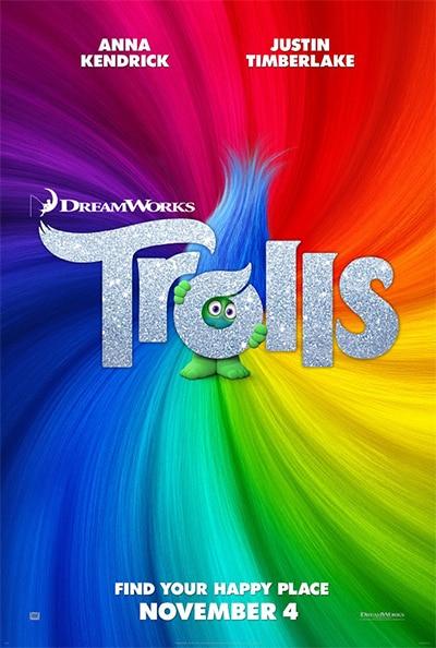 Trolls Movie poster