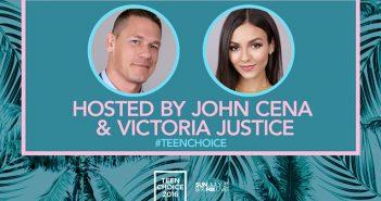 Victoria+Justice+John+Cena+osting+Teen+Choice+2016+Awards