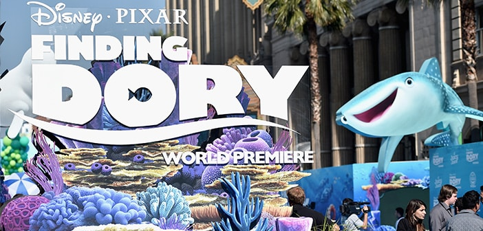 FINDING DORY - Alicia Machado,Pepe Aguilar, & Angelica Maria Highlighted The Hollywood Premiere - Photos 2