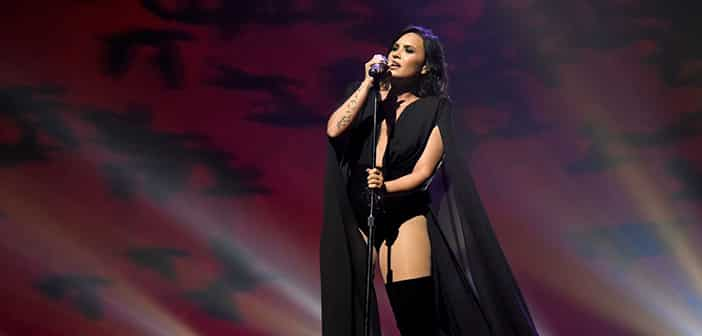 Demi Lovato Premieres New Single At Opening Performance In Her 'Future Now Tour'
