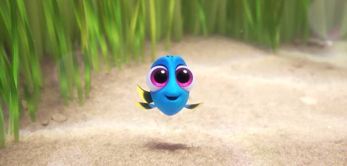 FINDING DORY - New Baby Dory Clip