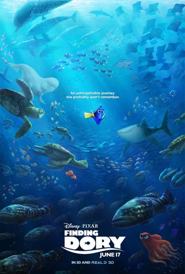 finding dory - HD poster
