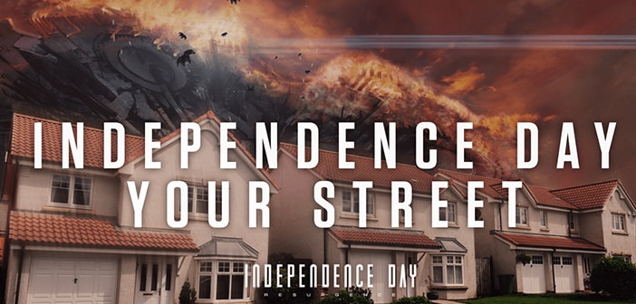 INDEPENDENCE DAY: RESURGENCE - Independence Day Your Street!