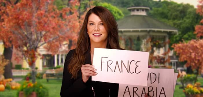 Lauren Graham Has A Special Announcment...Gilmore Girls Is Going GLOBAL!!