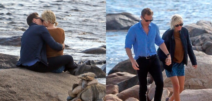 Paparazzi Snag Pictures Of Tom Hiddleston And Taylor Swift Sharing Intimate Moment Together At The Beach