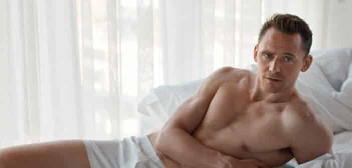 Tom Hiddleston Strips Down To His Boxers For A Photohoot With W Magazine 2