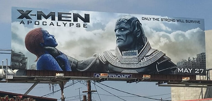 FOX Driven To Apologize And Take Down X-Men: Apocalypse Movie Ad Featuring Choke-hold Scene 1
