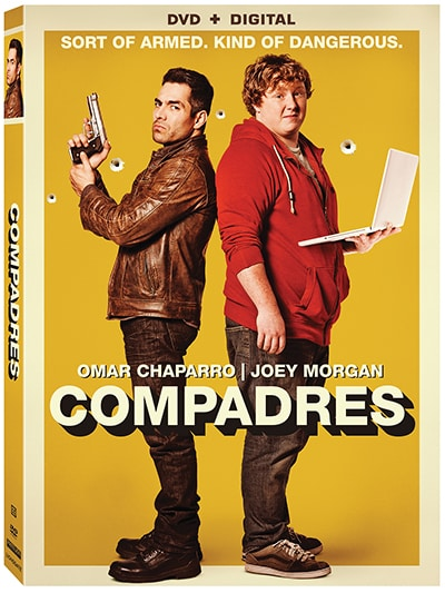 COMPADRES DVD BOX ART