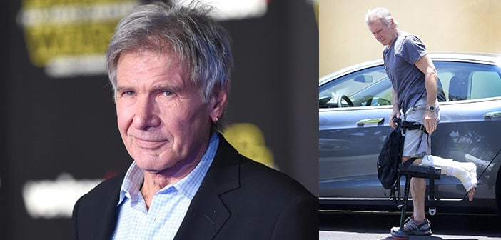 Court Finds Producers Guilty In Lawsuit Over Harrison Ford's Broken Leg On Star Wars Set