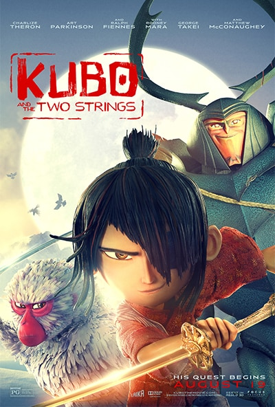 Kubo and the 2 strings - poster