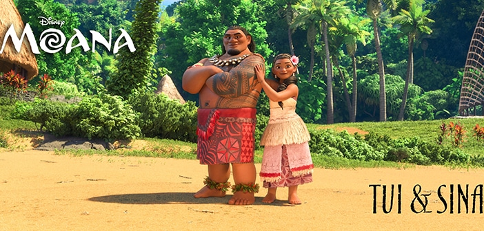 MOANA - Character Rollout & English Voice Cast Reveal 5