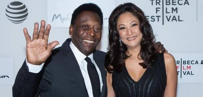 Pele Marries Long Time Girlfriend Marcia Cibele Aoki 2