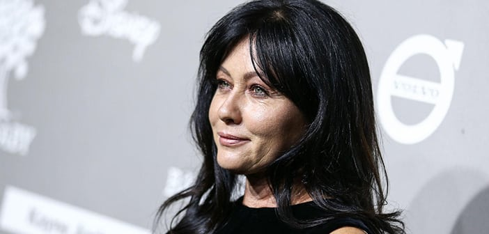 Shannen Doherty Shows Off New Self Cropped Hair As Part Of Her Ongoing Cancer TReatment 2