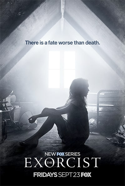 The exorcist tv poster
