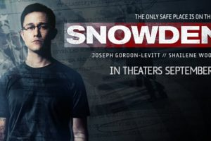 SNOWDEN Trailer- in theaters September 16, 2016!
