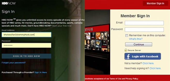Netflix and HBO Go Cracking Down On Sharing Account Passwords