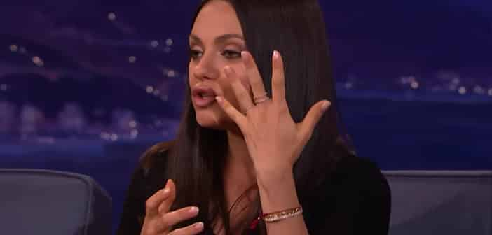 Mila Kunis Reveals She And Ashton Kutcher Bought Wedding Rings for Less Than $200