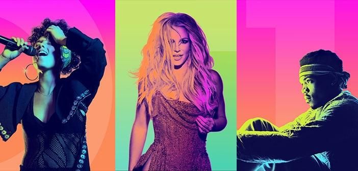 Britney Spears, Calvin Harris and Alicia Keys To Headline Apple Music Festival