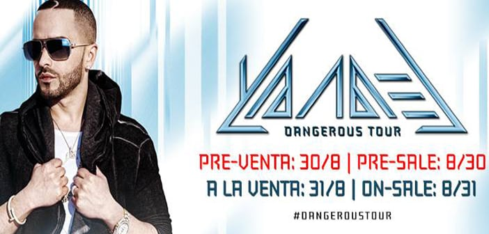 International Latin Star Yandel Signs Exclusive Touring Deal With Live Nation, Announces 15 City U.S. Dangerous Tour 2