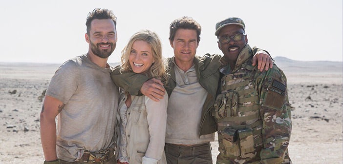 First Image Of The Cast 'The Mummy' Reboot That Will Star Tom Cruise & Annabelle Wallis