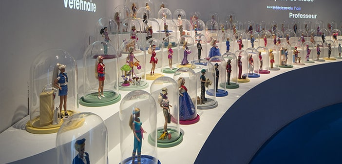 Barbie Has Made Herself a New Home In Paris' Louvre Palais