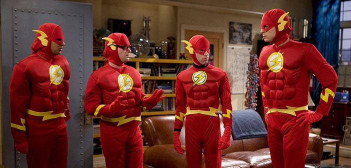 "Bing Bang Theory's Shedlon Cooper Will Be Meeting ""The Flash"""