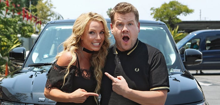 Britney Spears Set To Make An Appearrance For James Corden's Carpool Karaoke