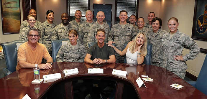 DEEPWATER HORIZON - Keesler Air Force Base Got A Special Visit From Kurt Russell, Kate Hudson, and Director Peter Berg 1