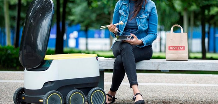 Washington D.C. Will Be Starting Testing For Automated Grocery And Takeout Deliveries 1