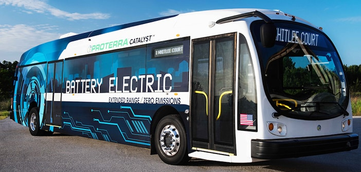 The Electric Bus 'Proterra' Can Drive 350 Miles Before Needing To Recharge