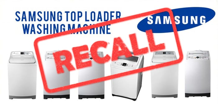 Samsung Taking Another Recall Hit As Brand Washing Machines Explode