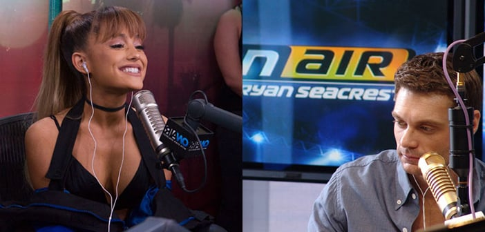 Ariana Grande Was NOT Happy With Ryan Seacrest Interview Asking About New Boyfriend Mac Miller