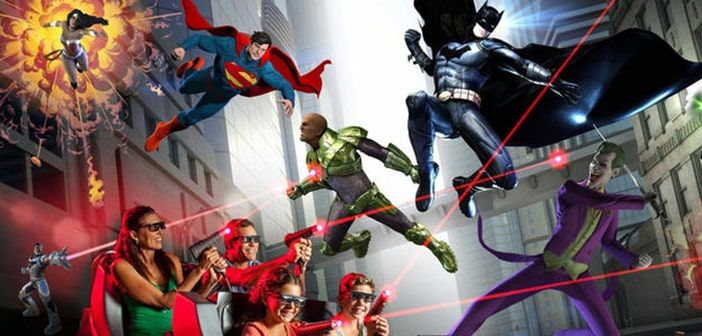 Six Flags Opens All New Motion-Based Ride Featuring THE JUSTICE LEAGUE