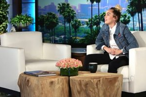 Ellen DeGeneres Called Up Miley Cyrus To Host Today's Show While She Was Sick