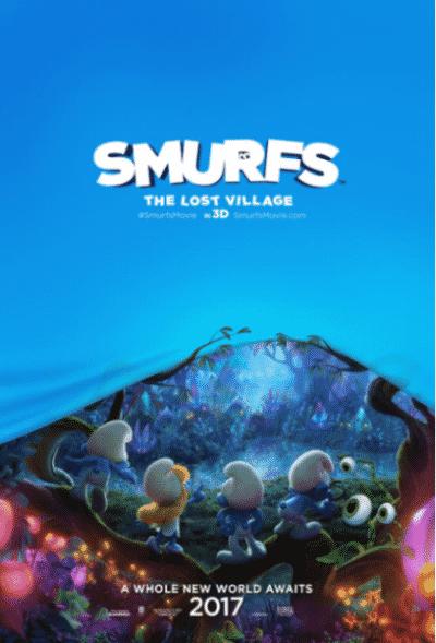 smurfs-lost-vilage-poster