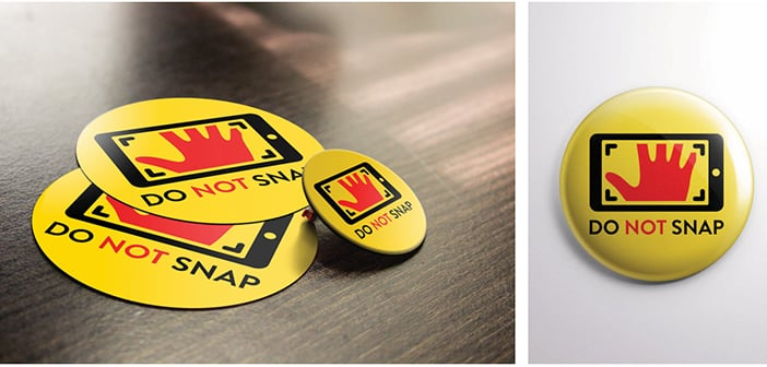'Do Not Snap' Badge will Protect Your Identity On Other Peoples' Social Media Pics