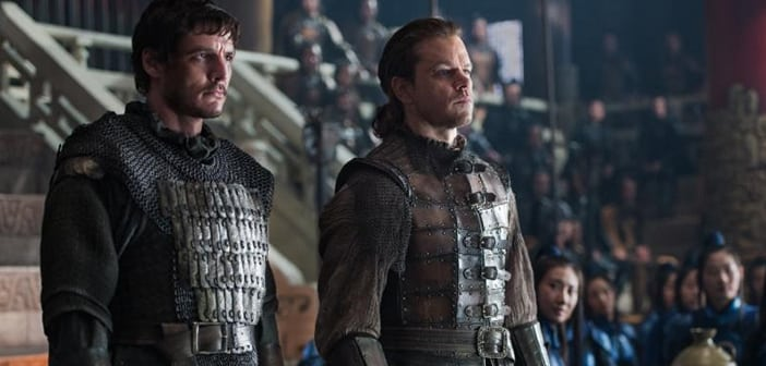 The Great Wall - New Trailer Debuts at New York Comic Con