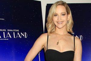 Jennifer Lawrence Wore a $2K Bodysuit To BFF Emma Stone's 'La La Land' Screening