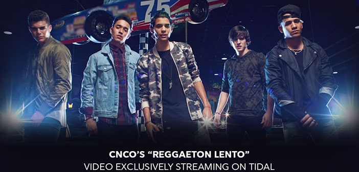 Latin Music Phenomenon, CNCO, Exclusively Debuts New Music Video On TIDAL 2
