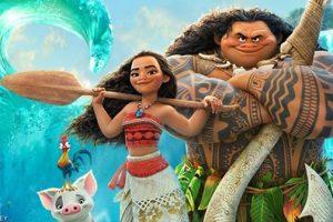 """Disney's MOANA - Dwayne Johnson sings """"You're Welcome"""" - written by Lin-Manuel Miranda 2"""