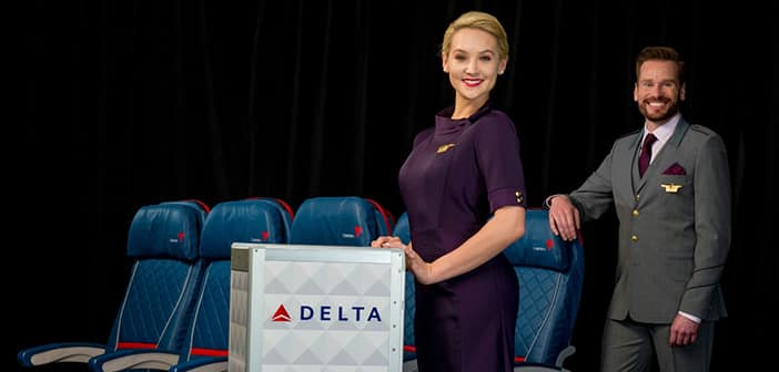 Delta Air Lines Debuts Their New Line Of Modern Employee Uniform 1