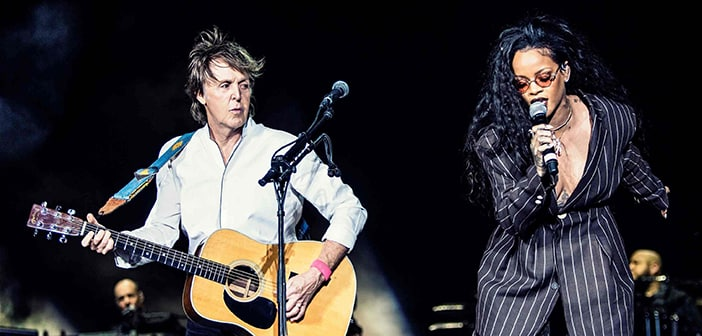 Paul McCartney Fans Get Surprise At California Concert When Rihanna Appeared On stage