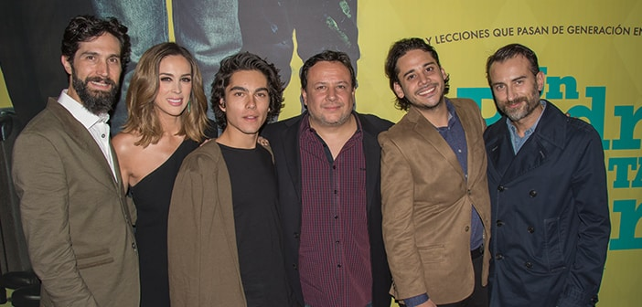 "Pantelion Films' ""Un Padre no tan padre"" premieres at the Morelia International Film Festival 5"