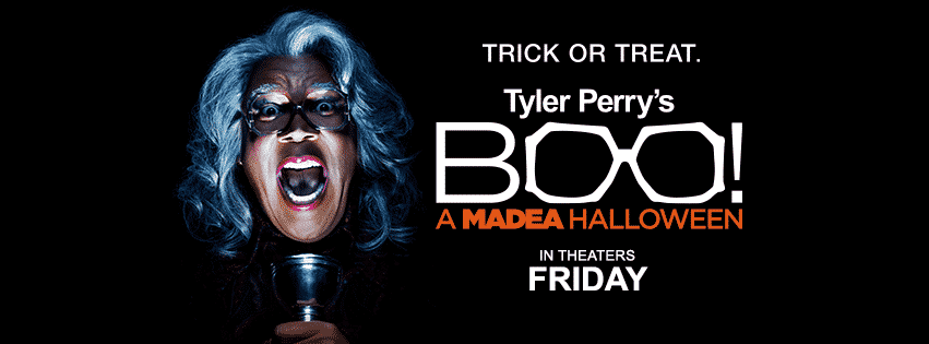 TYLER PERRY'S BOO! A MADEA HALLOWEEN - World Premiere Footage 2