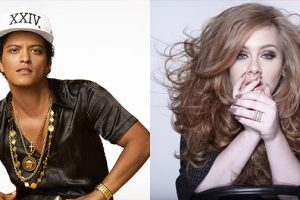 """Bruno Mars' First Impression Of Adele Included Seeing Her As a """"A Diva"""" In The Studio"""