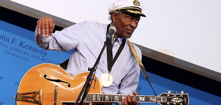 Chuck Berry Celebrated His 90th Birthday By Releasing His 20th Album After 38 Year Hiatus